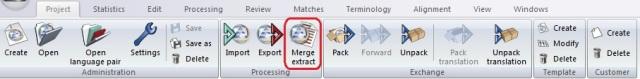 Merge extract